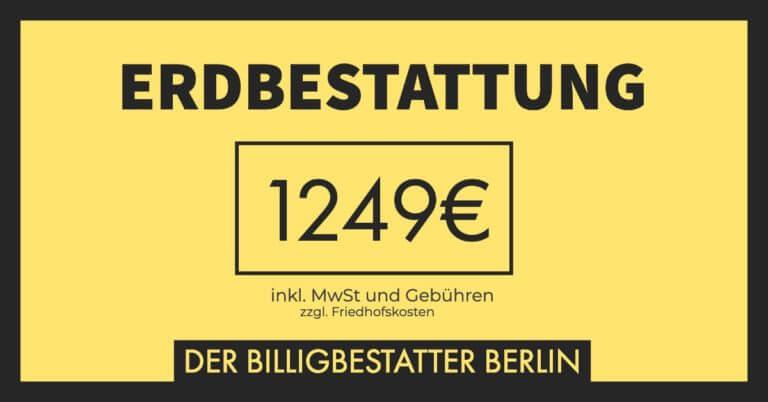 Seebestattung nur 1249€ - Billigbestatter Berlin